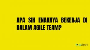 Apa sih Enaknya Bekerja di dalam Agile Team?